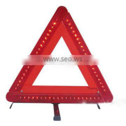 latest triangle led security sign for car emergency