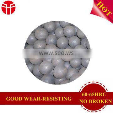 wear-resisting large metal ball for ball mill