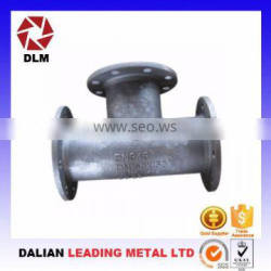 OEM carbon steel casting pipe fittings spare parts investment castings