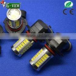 wholesale dual color 5630 33SMD LED 9005/6 H8/11 fog light designed for all car lights