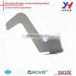 OEM ODM Custom Aluminum Mounting Strip Connecting Parts Stamping and Bending Parts