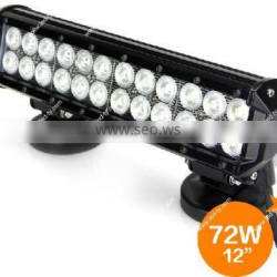 "12"" 72W LED Off Road Power Sport 4WD Vehicle Driving Scene Light Bar"