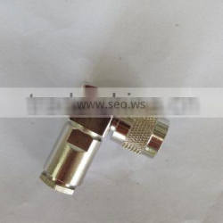 low price tnc male right angle lrm400 cable connector