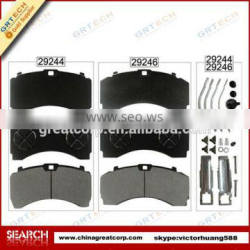 Top quality chinese truck brake pad for wva29246
