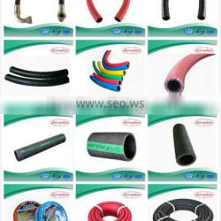 green colour with red colour twin welding rubber hose