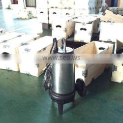 WQ (K) cutting submersible Sewage pump