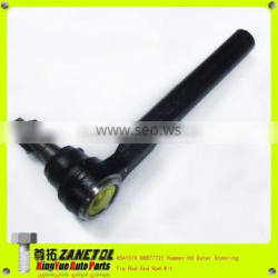 45A1374 88877721 Hummer H3 Outer Steering Tie Rod End Rod Kit