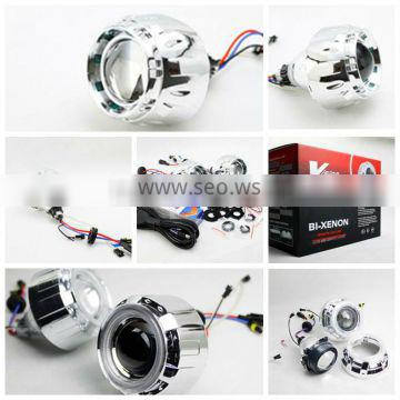 """2.8""""inch hid bixenon projector lens ShengWell angle eye projector lens car angle eyes 2.8"""" hid projector lens Quality Choice"""