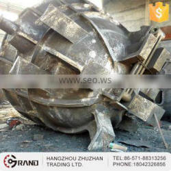 Carbon precision steel casting foundry slag pot for metallurgy projects