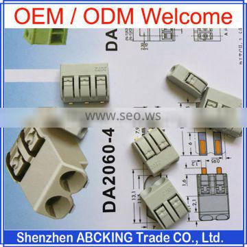 Factory Pirice High Quality Quict Push Wire LED Terminal Block LED Light Block