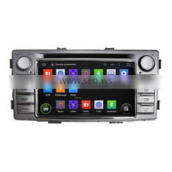 Automotive multimedia dvd player with navigation system for Toyota Hilux 2012
