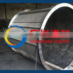 SS304 wedge drum screens for waste water treatment