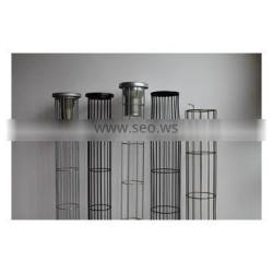 steel mill organic silicon carton steel with 20 vertical bar filter cage