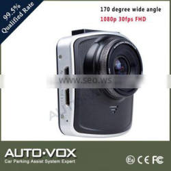 WDR night vision video dashboard camera 1080p