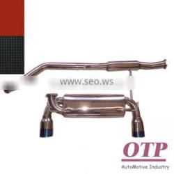 Exhaust catback for Nissan 350Z Z33 FAIRLADY Dual tip