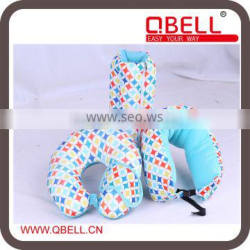 Microbeads Travel Neck Pillow With Eyemask