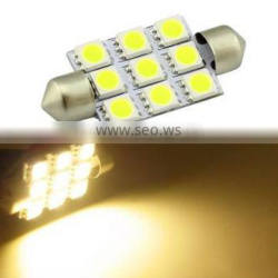 5050-9MD-41MM Interior lights rgb led dmx festoon light reading light