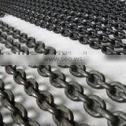 Welded mining scraper chain for chain conveyor