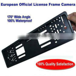 European Official License Frame Car Rear Camera 2014 New Products