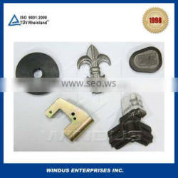 Carbon steel cast investment casting for custom drawings