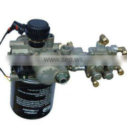 Hot selling 9325000350 air dryer with four circuit protection valve for truck