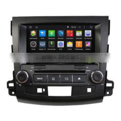 Automotive multimedia dvd player with navigation system for Mitsubishi Outlander 2006-2012