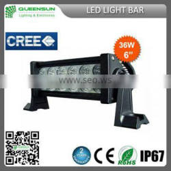 new design 36W led light bar, with 3D reflector 12pcs*3W 2rows 36W light bar led,offroad 36W led light bar DRLB36