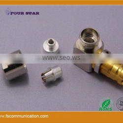 1.6/5.6 Connector Female Bulkhead Right Angle Clamp for 0.3x1.8 Cable