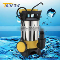 Stainless steel submersible water pump 220v with flow switch