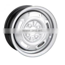 2016 Hot Product 15 Inch Silver Steel Rim Wheels for Toyota of Canadian Market