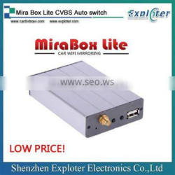 car standard Mira Box Lite CVBS Auto switch DLNA