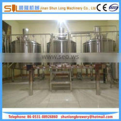 Rugged protection easy maintenance brewing system micro 1000l beer brewery equipment