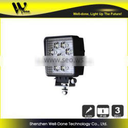 Factory Direct Offer Hot super bright IP68 27W Truck LED work light