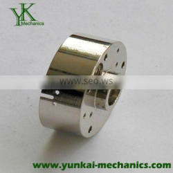 Nickel plated precision CNC turning parts, precision auto parts by cnc machining