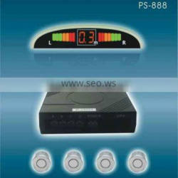 2years guarantee and 9dollar wirless or wired parking car radar detector