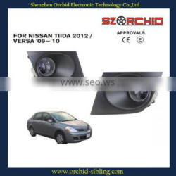 clear fog lamp / fog light for nissan tida 2012 / versa 09~10