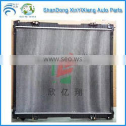 Heavy duty truck cooling system radiator for Scania