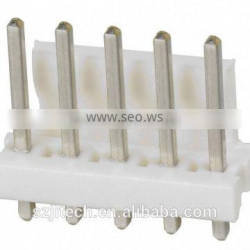 3.96mm pitch vertical PCB Mounting Orientation wire to board plug header connector TE 5 pin connector tyco 640445-5 straight