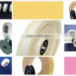 Customize nylon v-belt pulley H type U type grooved wheel