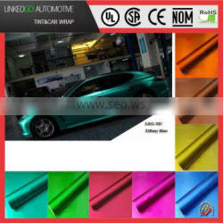 Most popular 1.52*20m waterproof printed decorative matte vinyl car wrap with air bubble channel car body sticker