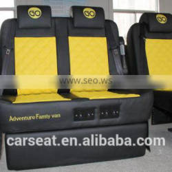 Yellow -Double electric car seat customized auto seat for car modification
