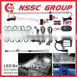 Hot Sale Factory Direct IP68 Waterproof Boat LED Light bar Kit for Yachts and Boats