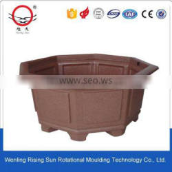 high quality flower pot rotomoulded