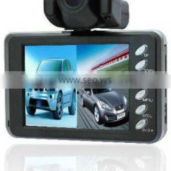 Latest dual car camera with front & reverse cam