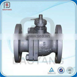 JIS Flange End Stainless Steel Pneumatic Actuated Ball Valve