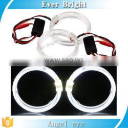 China factory direct wholesale led light auto bulds Light guide ange eyes ring head lamp car led lighting angel eyes