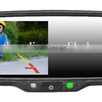 4.3 Inch Navigation GPS Car Rearview Mirror Monitor Win CE with Reverse Camera