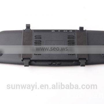 5 inch full 1080P mirror double recording car DVR WIith reaview reverse function and motion dection
