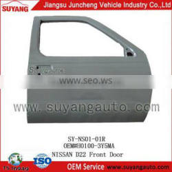 for SYNISSAN D22 wholesale front car door(RH) made in china