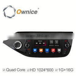 Ownice Quad Core android 4.4 auto radio for Kia Ceed 2013-2015 built in wifi